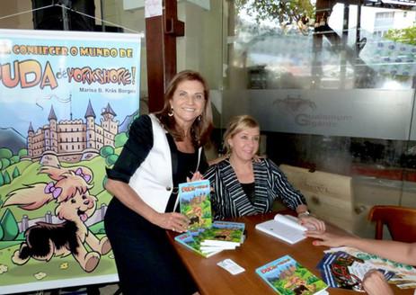 Lançamento Nordeste -João Pessoa/ PB com a CEO do FESTURIS de Gramado, Marta Rossi