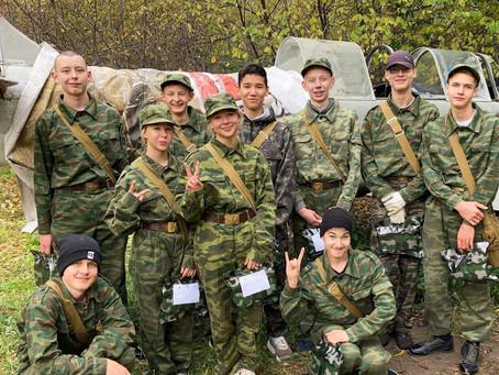 Победа в военно-спортивной игре «Служу Отечеству!»