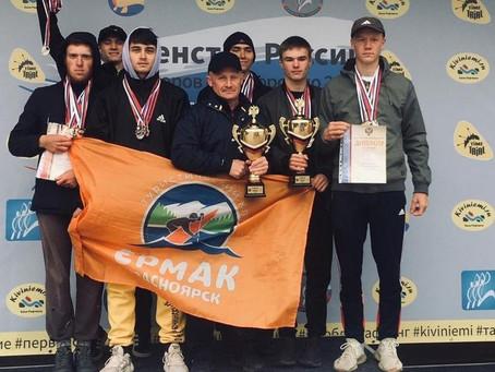 Красноярская команда по рафтингу стала второй в России!