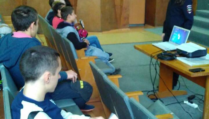 Встреча со  студентами ДПС ГИБДД МУ МВД России