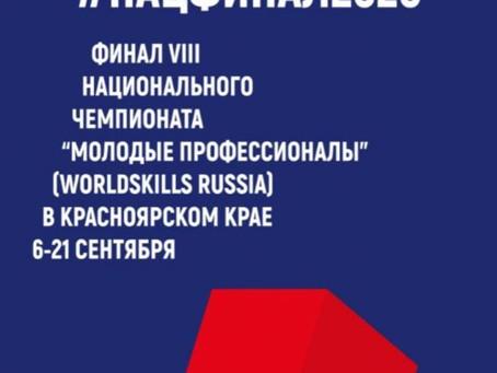 Финал VIII Национального чемпионата «Молодые профессионалы»(WorldSkills Russia) 2020
