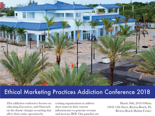 Ethical marketing practice addiction conference march 30th, 2018