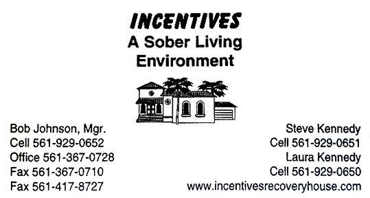 Sober Living Incentives in Boca Raton Florida