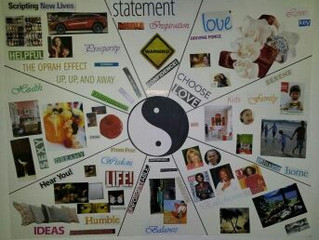 How To Create A New Year's Resolution Vision Board