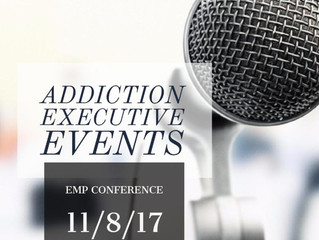Addiction Executive EMP Conference 11/8/17