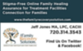 The family recovery solution, addiction navigation for families, the familiy recovery solution, jeff jones, All 4 ur addiction