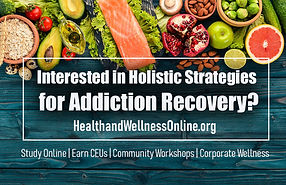 Wellness and Health online, holistic strategies
