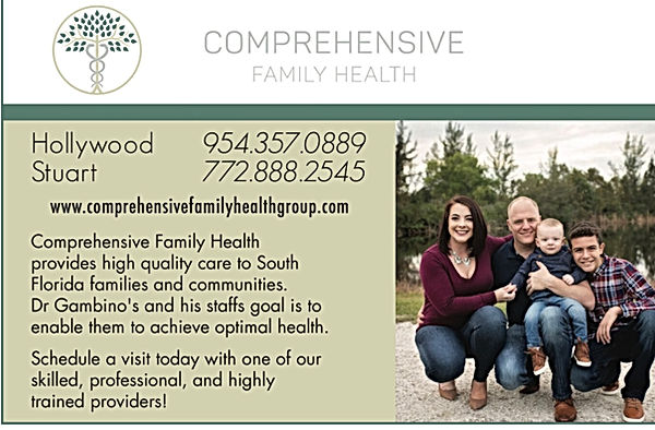comprehensive family health -all 4 ur addiction, Dr Paul Gambino, Hollywood, FL , Stuart, FL, Family Doctor, Medical marijuana