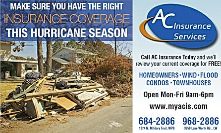 AC Insurance services -homeowner,auto west palm beach florida