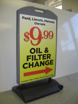 Free Standing Portable Signs