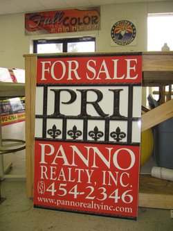 Full Color Laminated Signs