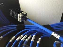 Optimal Tek network cable labeling