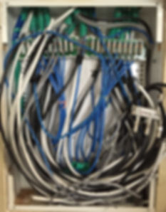 fix structured wiring problems in NC, SC
