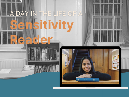 A Day in the Life of a Sensitivity Reader with Guntaas K Chugh
