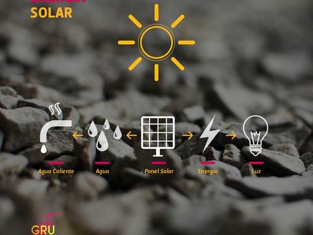 ¿Cómo aprovechamos la energía solar en Gru Grú?
