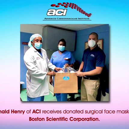 ACI Receives Donated Surgical Face Masks