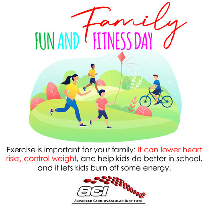 Family, Fun & Fitness Day!