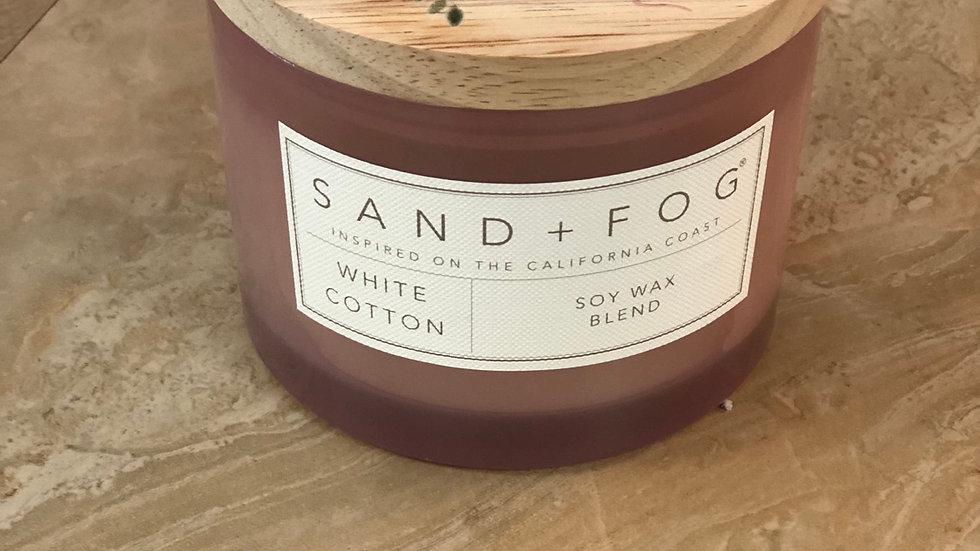 White Cotton candle