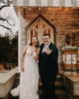 Bride and Groom Wichita Wedding Photographer