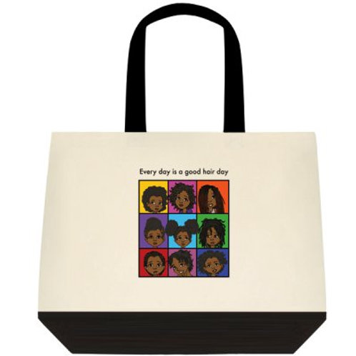 Every Day is a Good Hair Day - Tote Bag