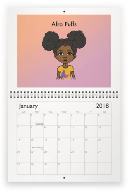 What Are You Gonna Do with that Hair? - Calendar