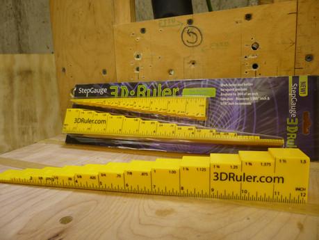 3D Step Gauge