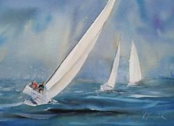 """""""Sea breeze""""/ """"Vindpust på regattan"""""""
