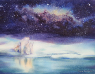 """Under stars sky"""