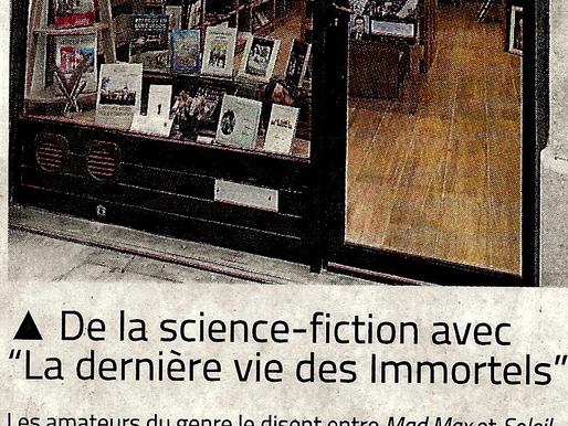 Ce jeudi Midi-Libre annonce ma dédicace au Chameau Malin !