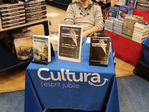 Dédicace à Cultura Béziers !