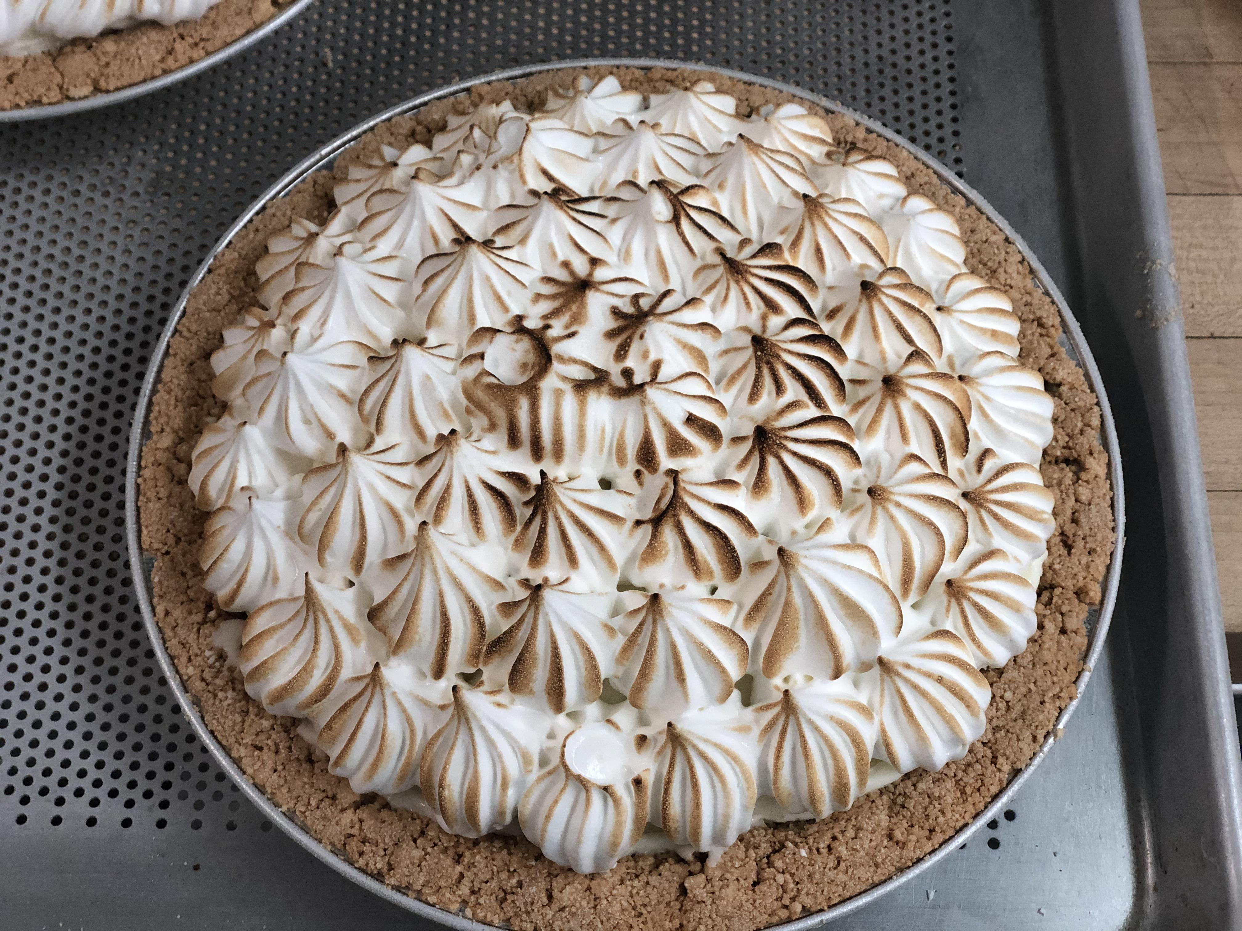 Gelato Merengue Pie