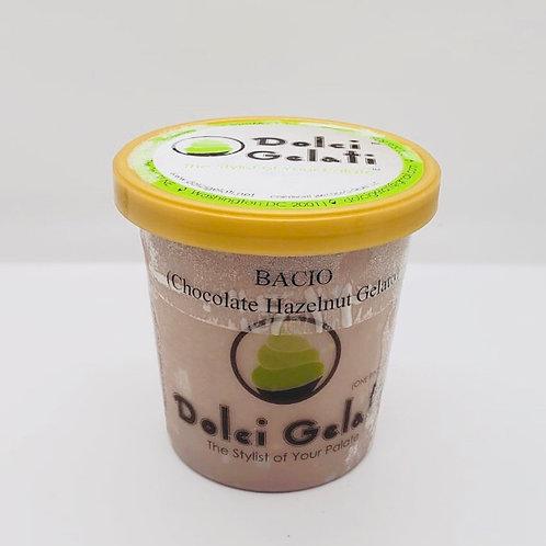Bacio Gelato (Choclate Hazelnut Gelato)