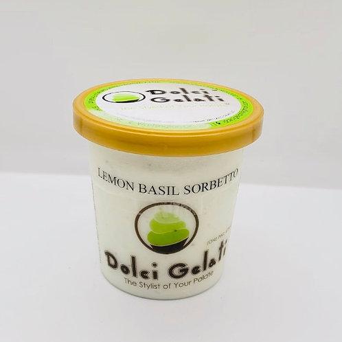 Lemon Basil Sorbetto