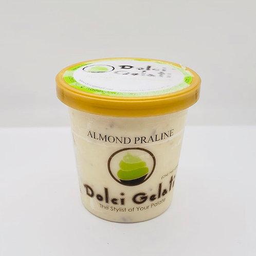 Almond Praline Gelato