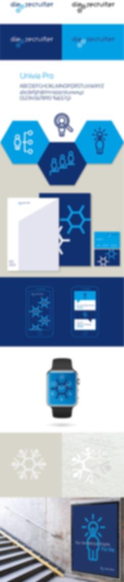 Logotype, Corporate, Entwicklung, Signet, Briefbogen, Recruiter