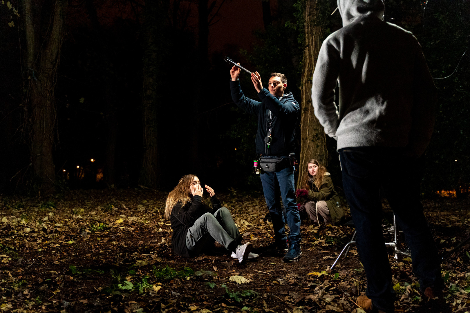 Forest filming