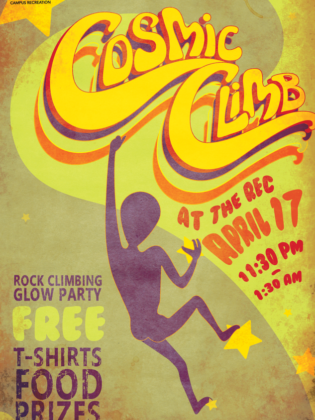 Cosmic Climb Poster
