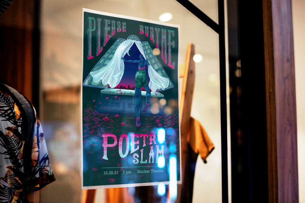 Poetry Slam Flyer Mockup