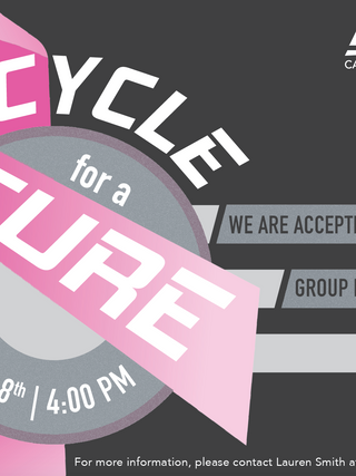 Cycle for a Cure flyer