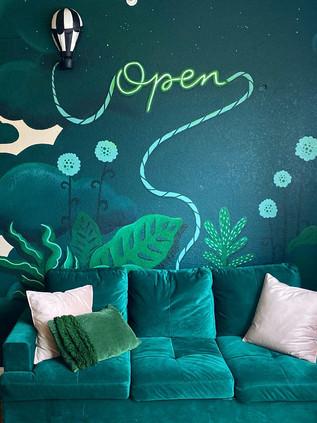 Emerald Mural
