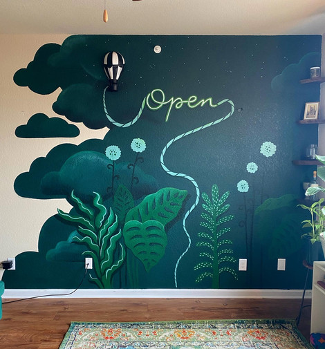Mural sans couch