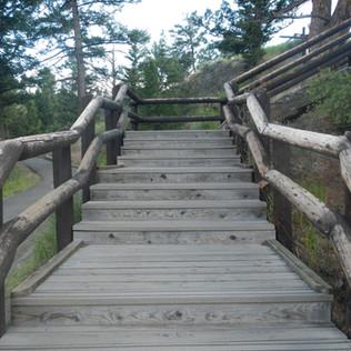 Calcicte Springs stairs up.JPG