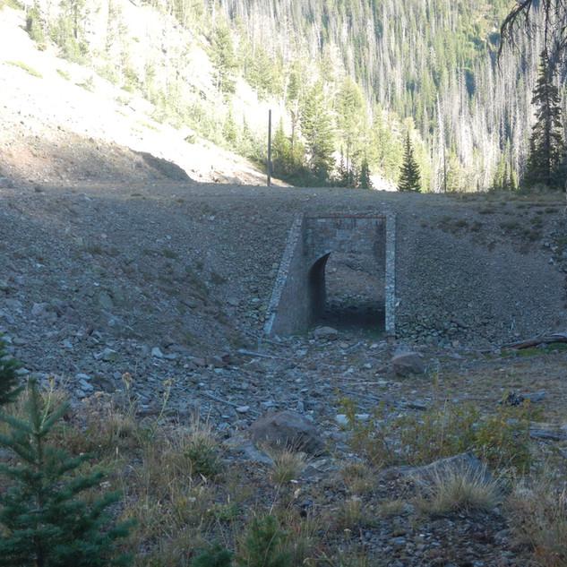 Corkscrew Bridge Yellowstone National Pa