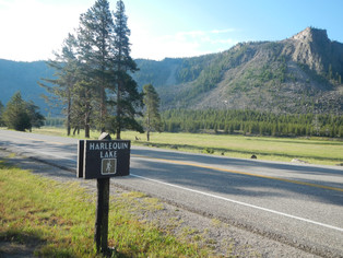 Harlequin Lake Trailhead in Yellowstone National Park