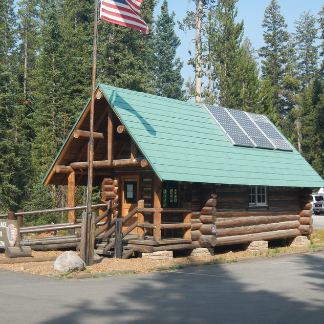 Lewis Lake Campground Ranger Station.JPG