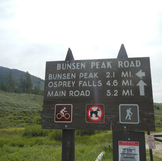 Bunsen Peak Road Trailhead Sign.JPG