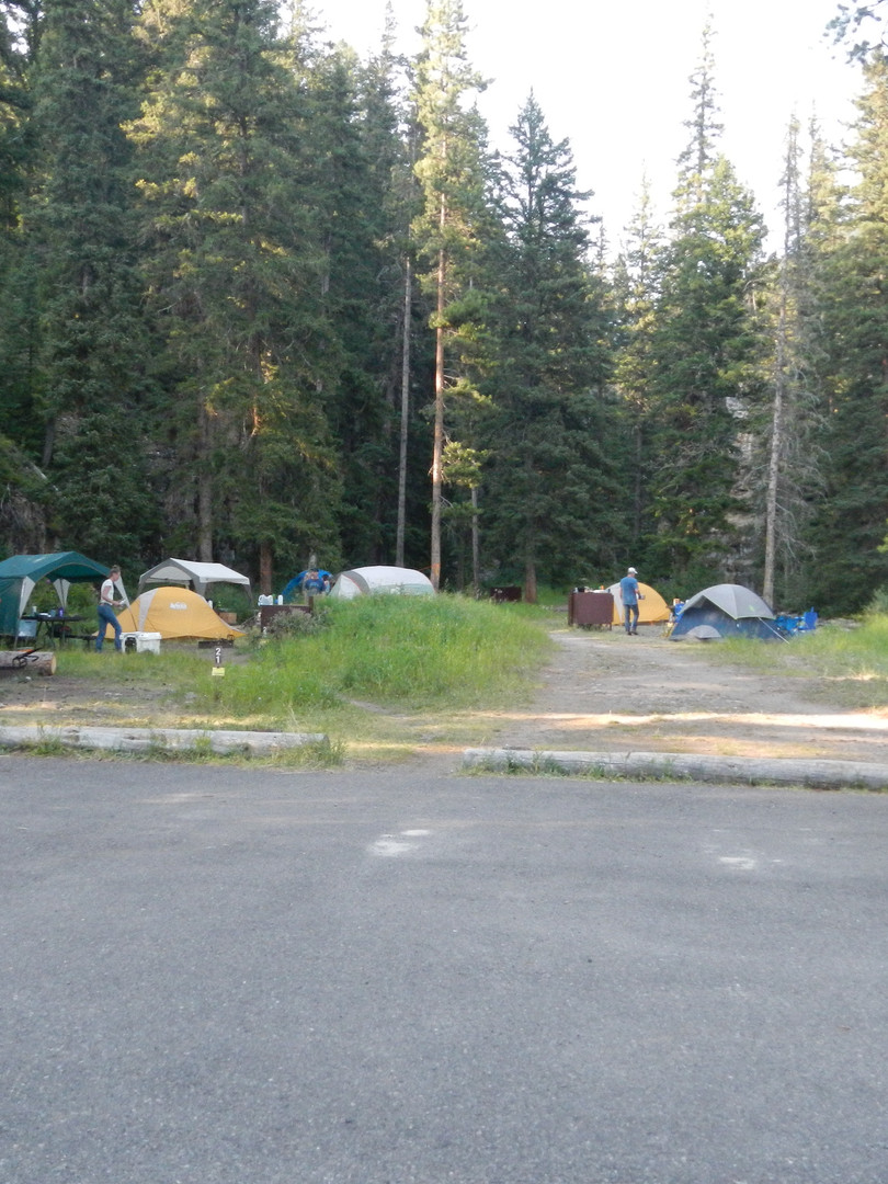 Pebble Creek Campground Tents.JPG