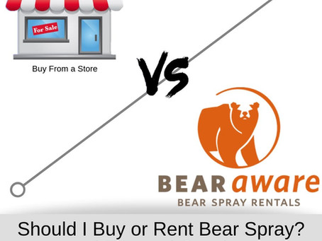 Should I Buy or Rent Bear Spray? - (Pros and Cons)