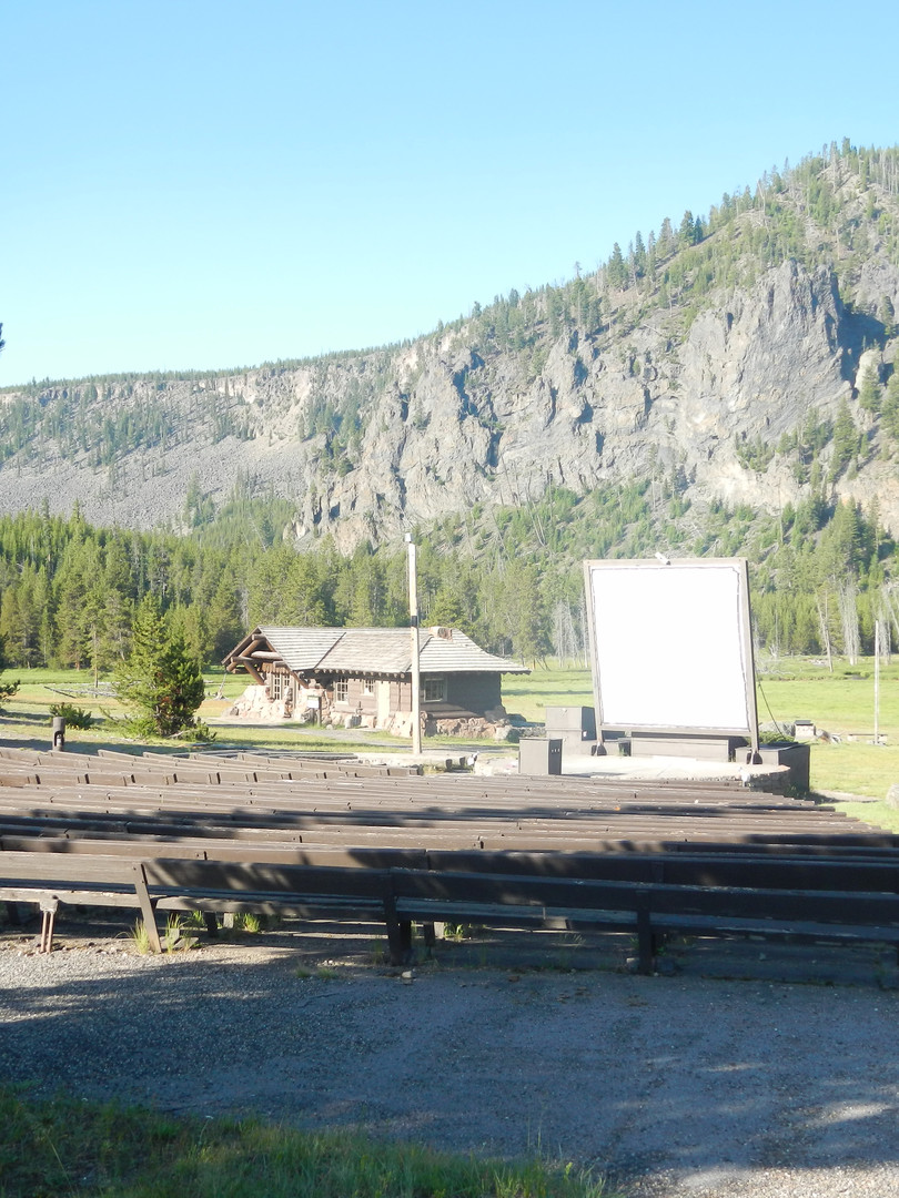 Amphitheater at the Madison Campground.J