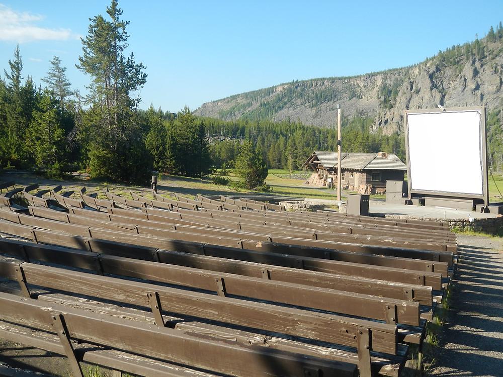 Madison Campground Amphitheater, Yellowstone